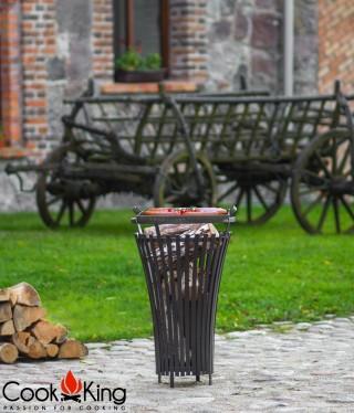 Feuerkorb Flame + Edelstahlgrillrost
