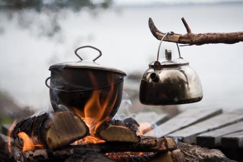 Muurikka Outdoor-Kochset (Topf & Kessel)
