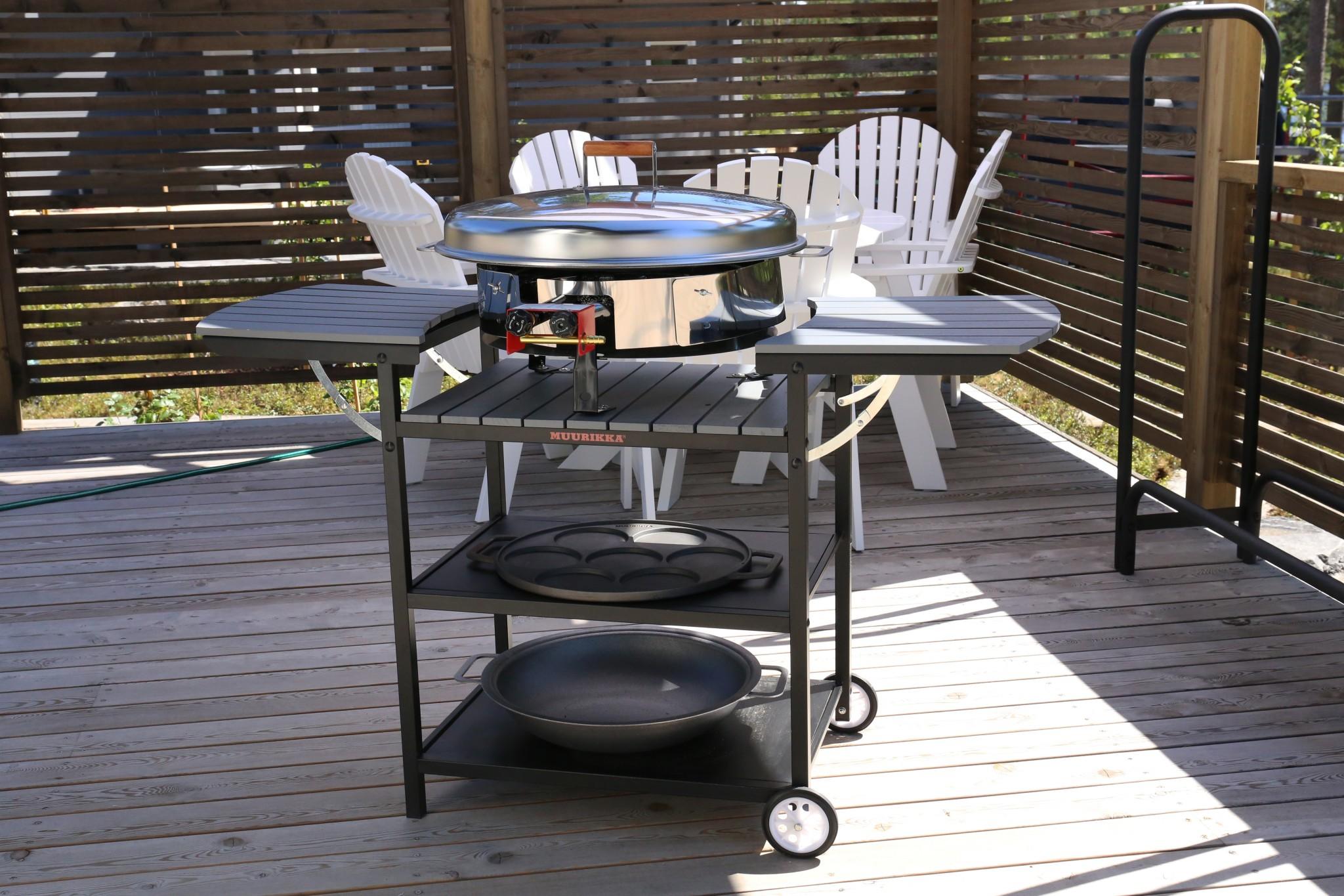 Outdoorküche Zubehör De : Die outdoorküche u genussvoll draußen kochen schÖner wohnen