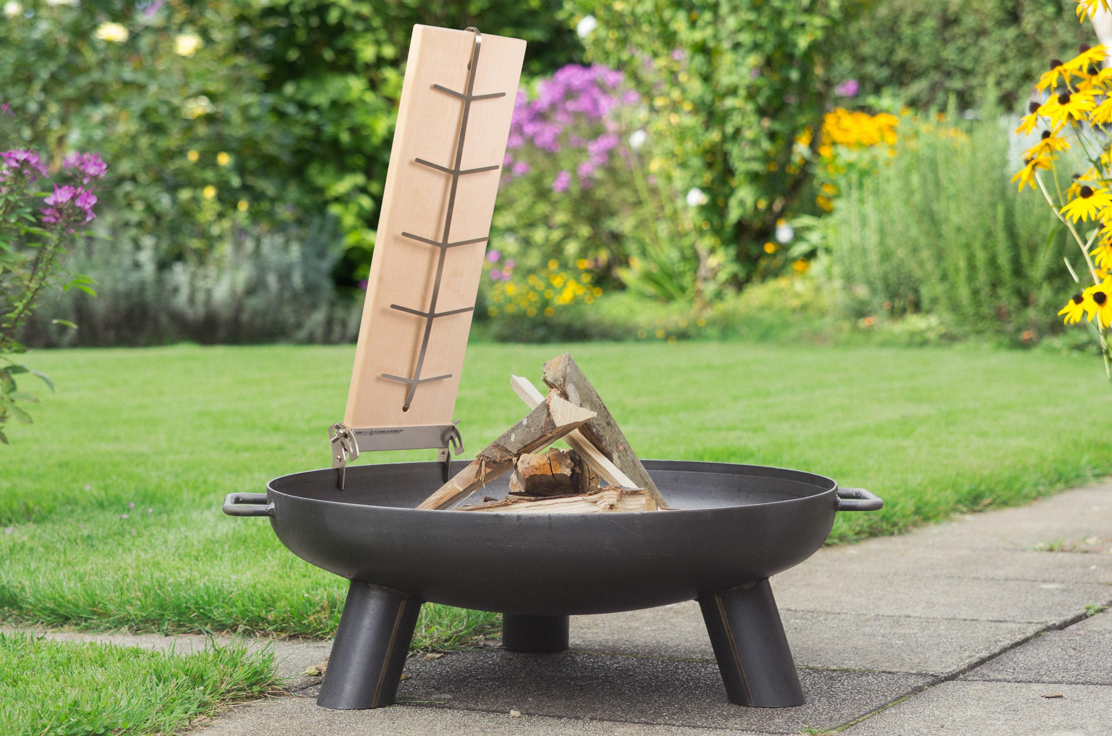 Flammlachsbretter 1er set original kaufen bei finnwerk for Feuerschale selber bauen