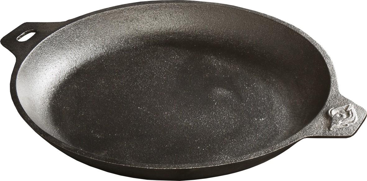 tundra grill gusseisenpfanne
