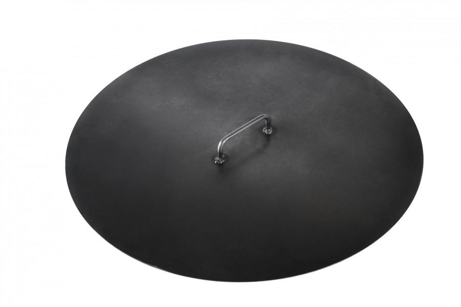 Deckel für die Feuerschale - 60 cm Durchmesser, massiver Stahl