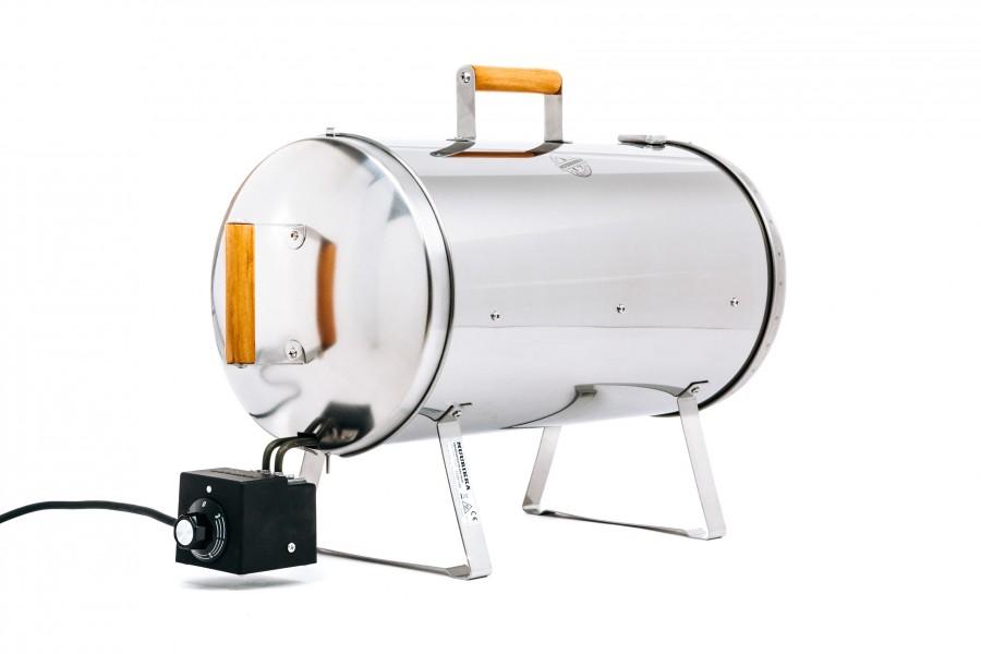 Elektro Räucherofen -  Smoker von Muurikka Pro mit Leistungsregelung, Thermometer und Entlüftungsventil, Tischräucherofen