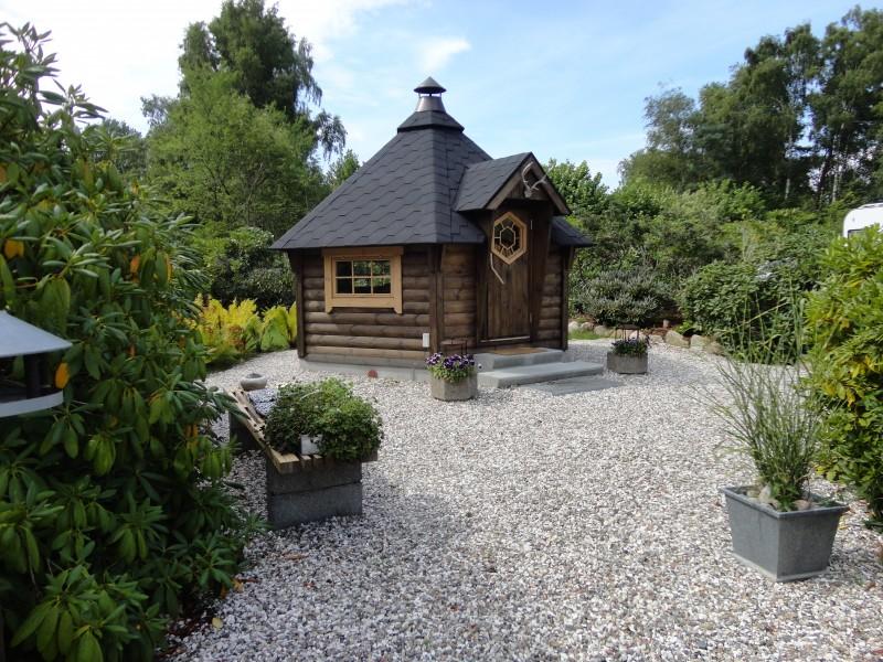 Grillkota 9 m² im Garten