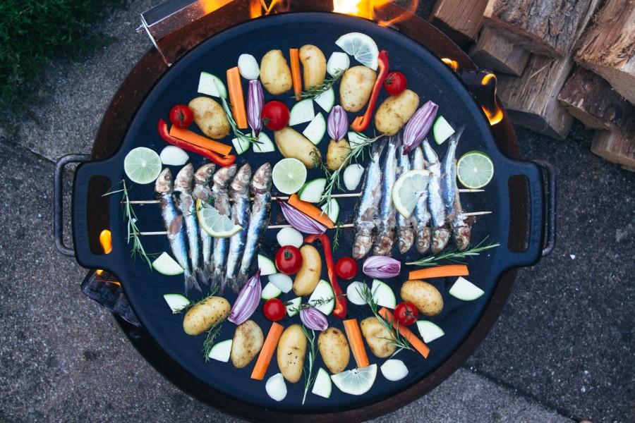 Leckeres Muurikka Gericht mit Fisch und Gemüse
