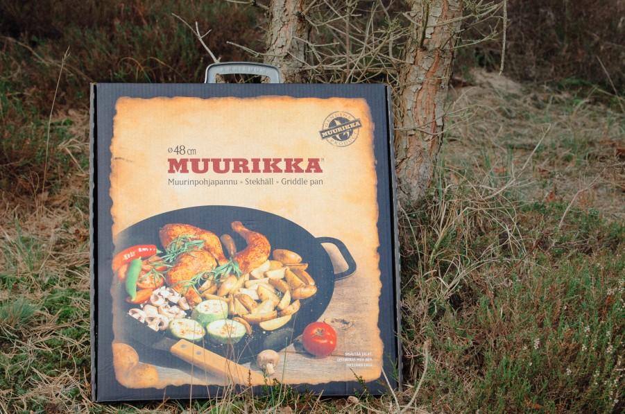 Murikka 48 Pfanne mit beinen das perfekte Lagerfeuer-Outdoor set