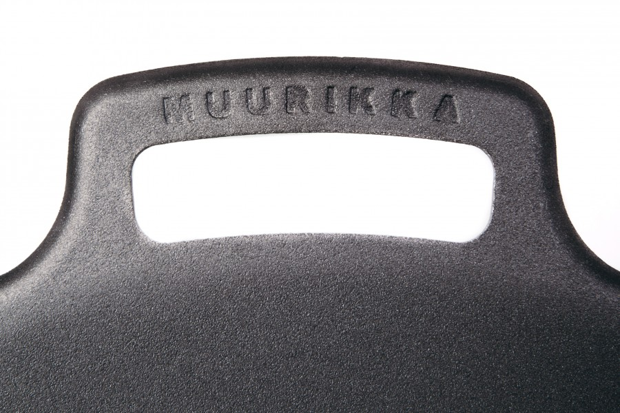 Muurikka Griff der Grillpfanne mit Logo