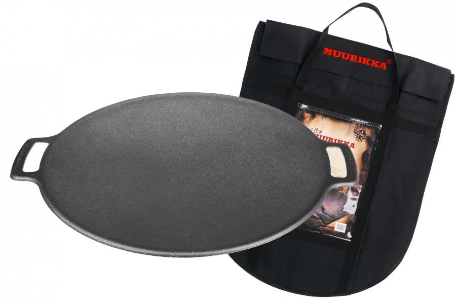 Muurikka Grillpfanne / Grillplatte Ø 48cm und Tasche