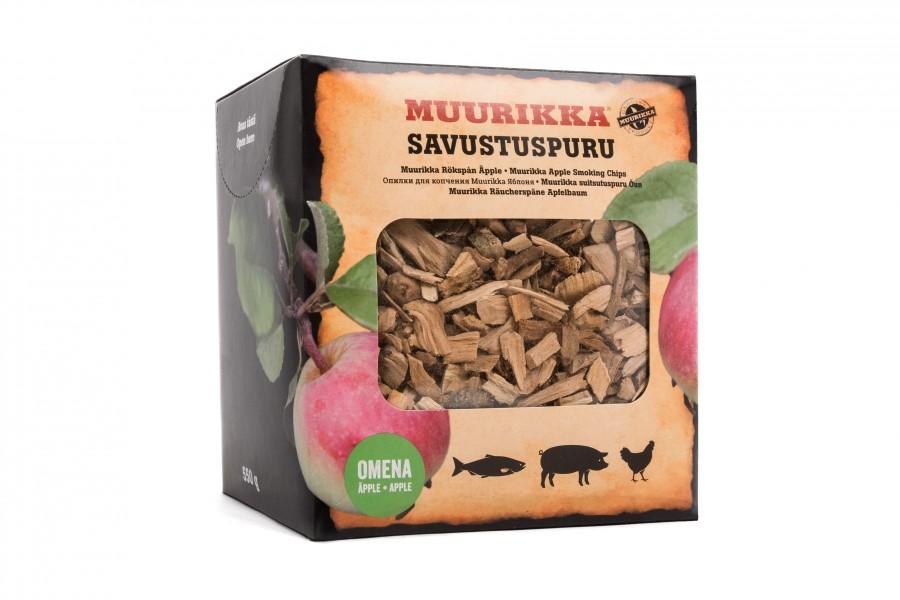 Muurikka Räucherchips Apfel -zartes fruchtiges Raucharoma, smoking Apple