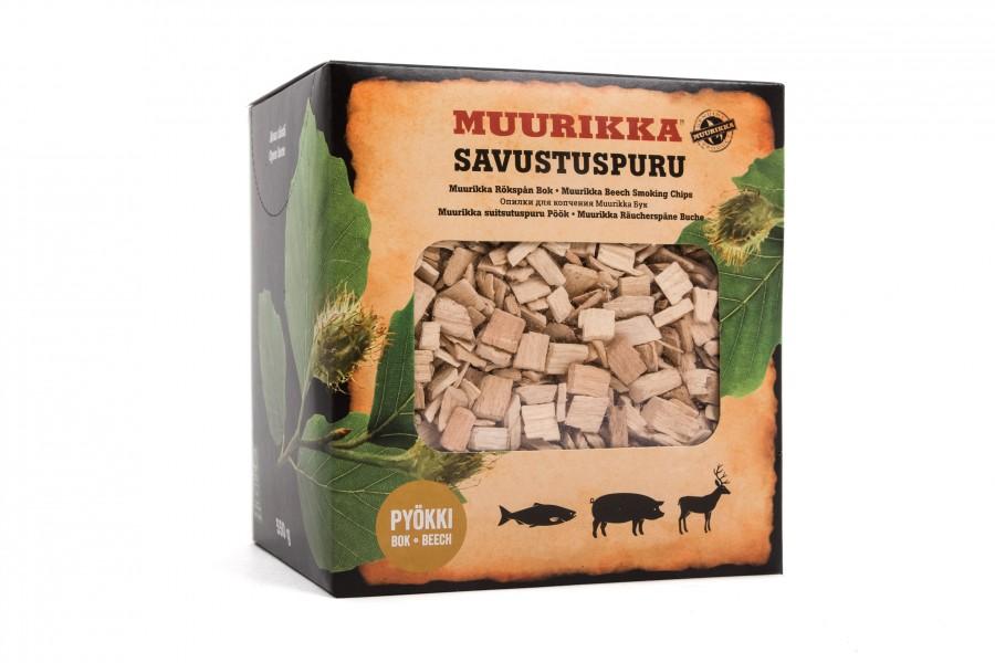 Muurikka Räucherchips Buche - kräftiges ausgewogenes Aroma, smoking Beech