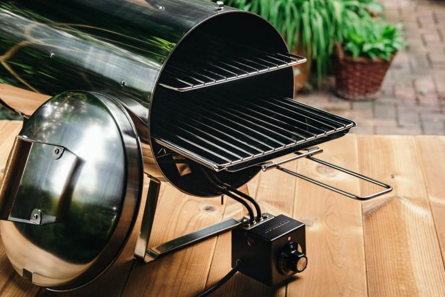 Muurikka Smoker PRO 1200W Elektroräucherofen mit 2 Ebenen zum Räuchern und zum Grillen