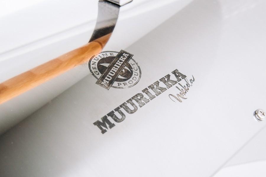 Nahaufnahme Muurikka Logo - Nur Echt von Muurikka