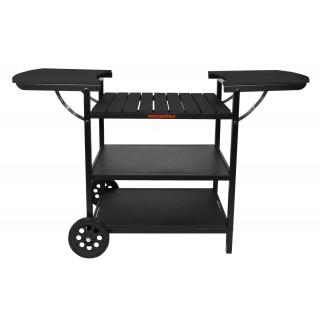 Muurikka Sommerküche Grill-Wagen Maxi schwarz