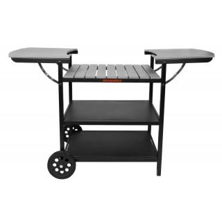 Muurikka Sommerküche Grill-Wagen Maxi grau