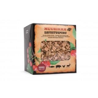 Muurikka Räucherchips Kirsche - mildes Räuchern mit süßer note im Smoker, Cherry