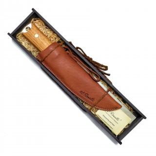 RW40P Big Heimo das Jubiläums Jagdmesser von Roselli in Geschenkbox