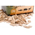 Buchenholz Woodchips für einsatz im Räucherofen von Muurikka 1-5cm