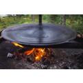 Muurikka 58 Grillschale / Grillpfanne nach der 2.Verwendung auf dem Tundra Grill