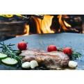 Steak auf der Feuerplatte von muurikka