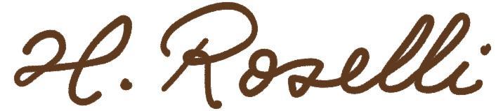 Roselli Finnenmesser Logo