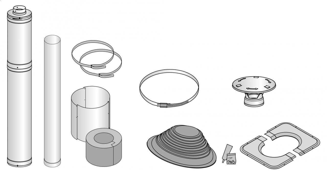 WHP1500 Rohrsystem-Komplettset