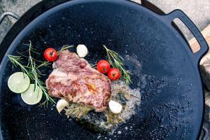 Steak auf der Muurikka